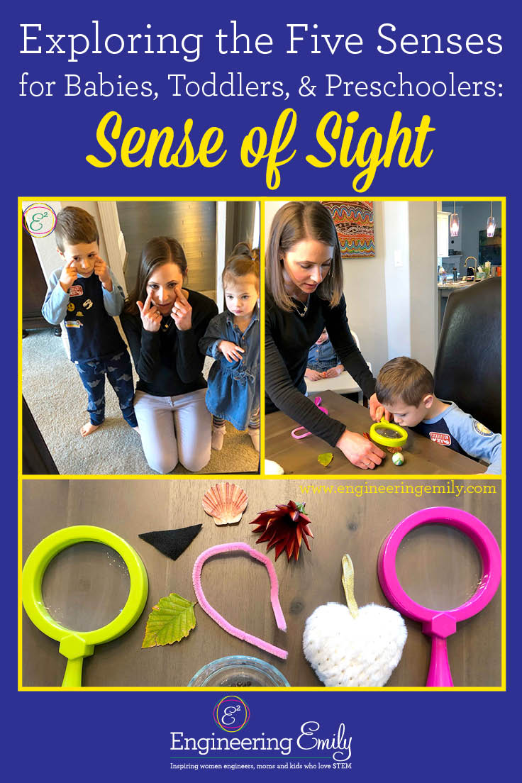 Exploring the Five Senses for Babies, Toddlers, and Preschoolers: Sense of Sight