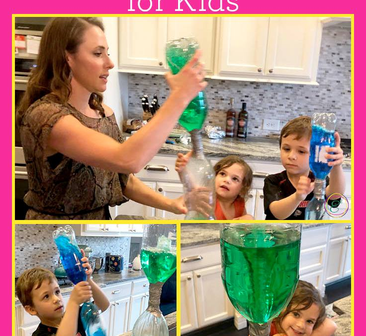 Tornado in a Bottle | STEAM Experiment for Kids