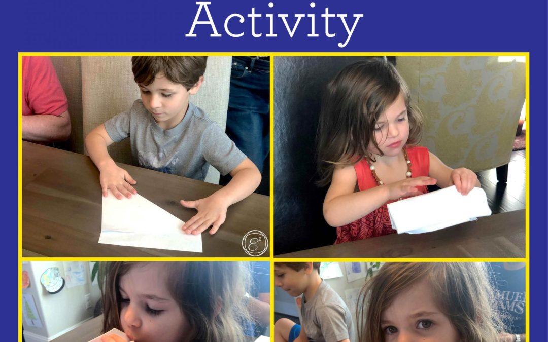Make an Origami Paper Balloon | Children's STEAM Activity