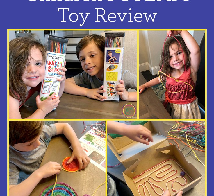 Wikki Stix STEM Pak | Children's STEAM Toy Review