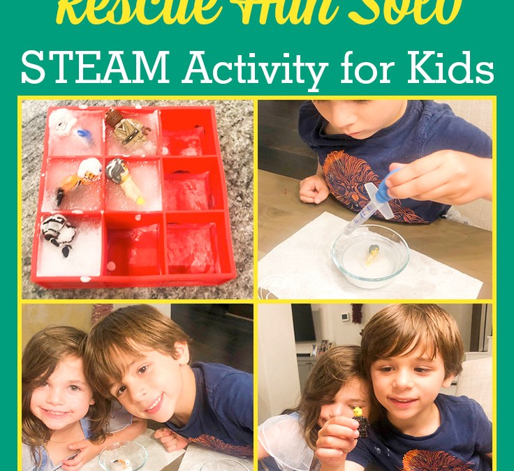 Star Wars Day: Rescue Han Solo   STEAM Activity for Kids