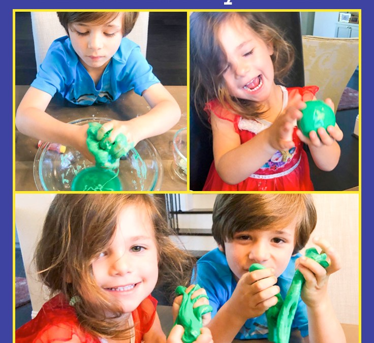Make Silly Putty | STEAM Activity for Kids