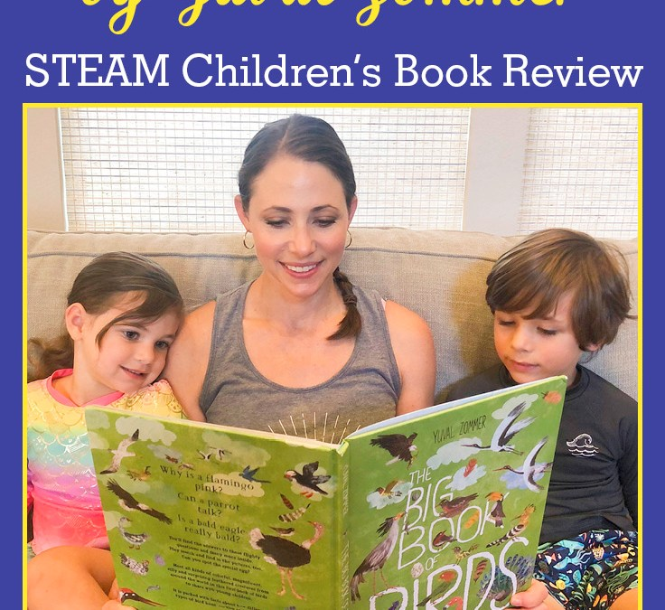 The Big Book of Birds by Yuval Zommer | STEAM Children's Book Review