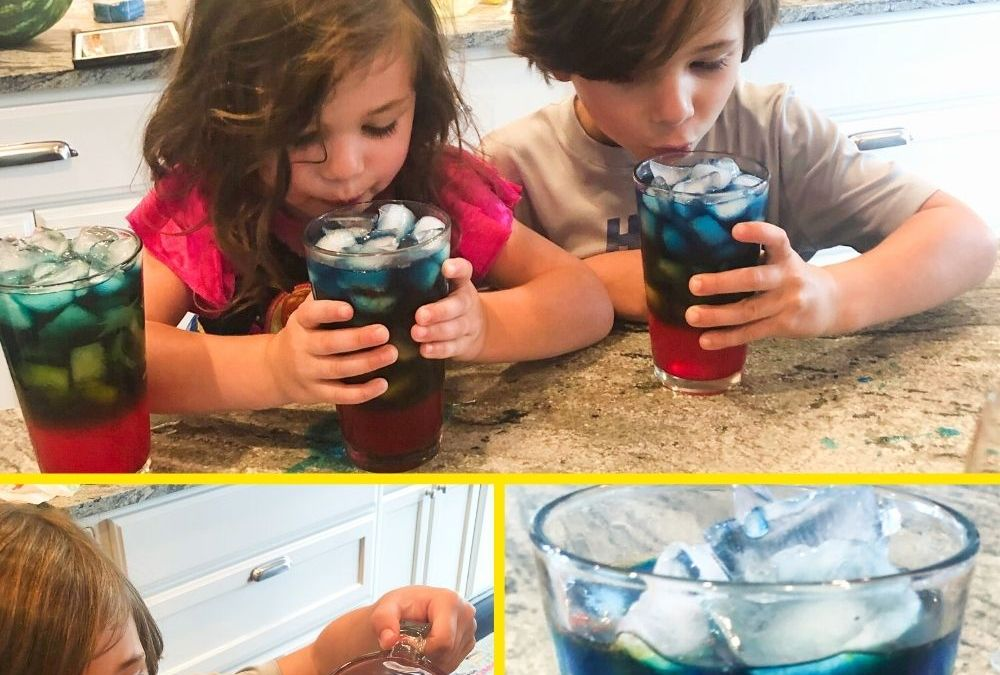 Rainbow Lemonade | STEAM Activity for Kids