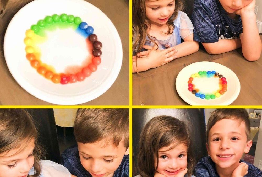 Halloween Candy Color Diffusion | STEAM Activity for Kids