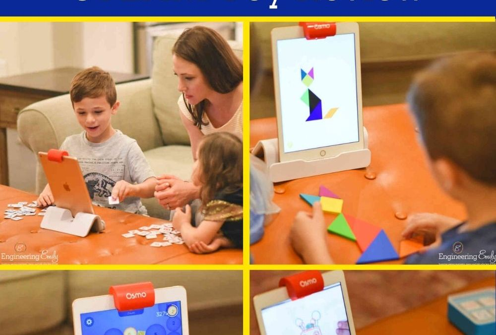 Family Game Night with the Osmo Genius Starter Kit | STEAM Toy Review