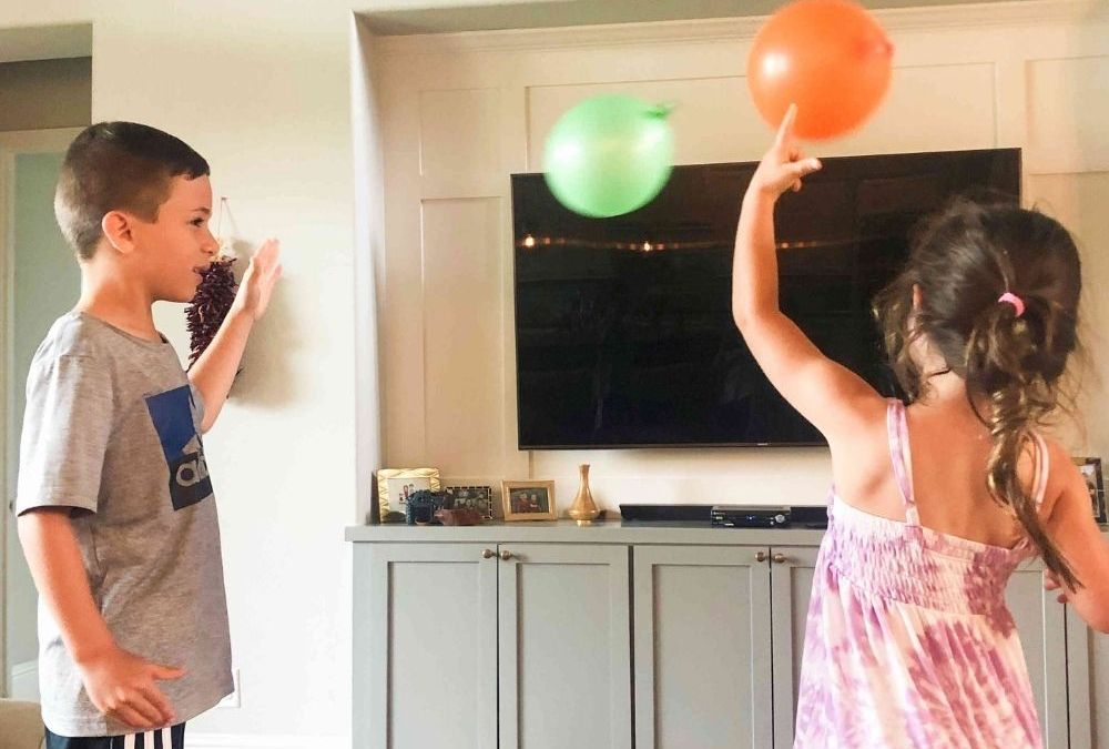 Deflating Balloon Races   STEAM Activity for Kids