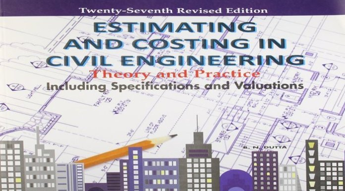 Estimating and Costing in Civil Engineering Book