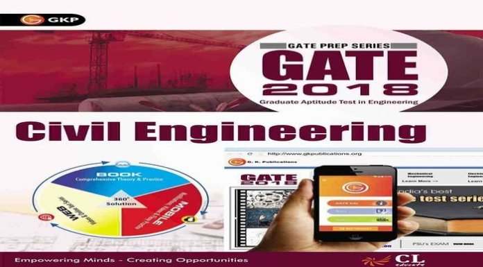 GATE Guide Civil Engineering 2018