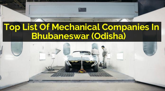Top List Of Mechanical Companies In Bhubaneswar (Odisha)