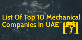 List Of Top 10 Mechanical Companies In UAE