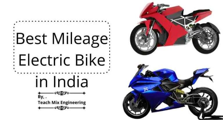 Long Range Motorcycle