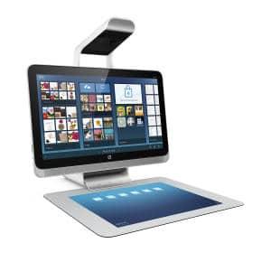 sprout by HP - eine wirklich gelungene Kombination aus PC, Touchtablett und 3D-Scanner (alle Bilder: HP)