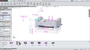In SolidWorks MBD definiert der Anwender die benötigten Zusatzinformationen und die Ansichten dazu (alle Bilder: SolidWorks).