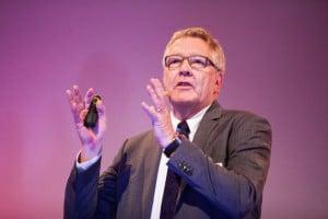 """""""Das digitale Modell ist das Herzstück der Digitalisierung"""", sagt Urban August, Managing Director Siemens Industry Software (Bild: BCT)."""