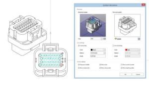 Ein Assistent unterstützt bei der Ableitung eines 2D-Symbols vom 3D-Modell (Bild: Eplan).
