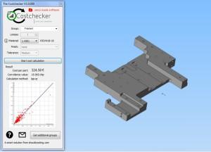 Der CostChecker berechnet Herstellkosten neuer Bauteile oder Baugruppen hochgenau und innerhalb von Sekunden (Bild: Shouldcosting).