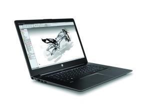 Das Display des ZBook Studio ist knackscharf und zeigt sehr schöne Farben (Bild: HP).