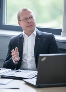 Dr. Oliver Tennert sieht Big Data als Grundlage der Digitalen Transformation an (Alle Bilder: transtec).