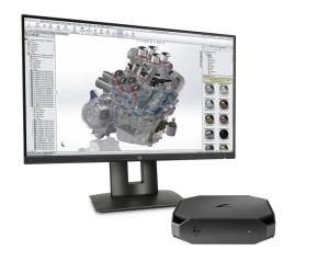 Die HP Z2 Mini ist eine extrem kompakte CAD-Workstation (alle Bilder: HP).