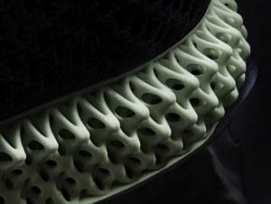 Die Gestaltung der Gitterstruktur ermöglicht individuelle Eigenschaften des Schuhs.