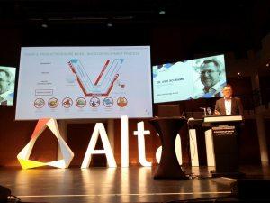 Altair-CTO Dr. Uwe Schramm bei der European Altair Technology Conference