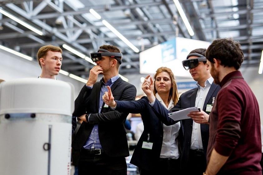 AR-Brillen beim PTC Forum Europe