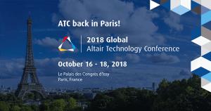 Altair Technology Conference 2018 - ATC @ Le Palais des Congrès d'Issy, Paris | Issy-les-Moulineaux | Île-de-France | Frankreich