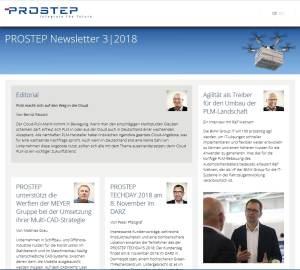 Prostep-Newsletter