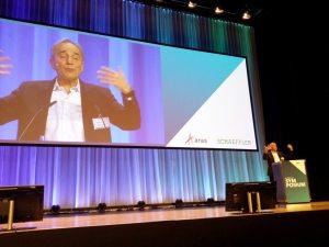 Karl Heinz Streibich beim Prostep Symposium
