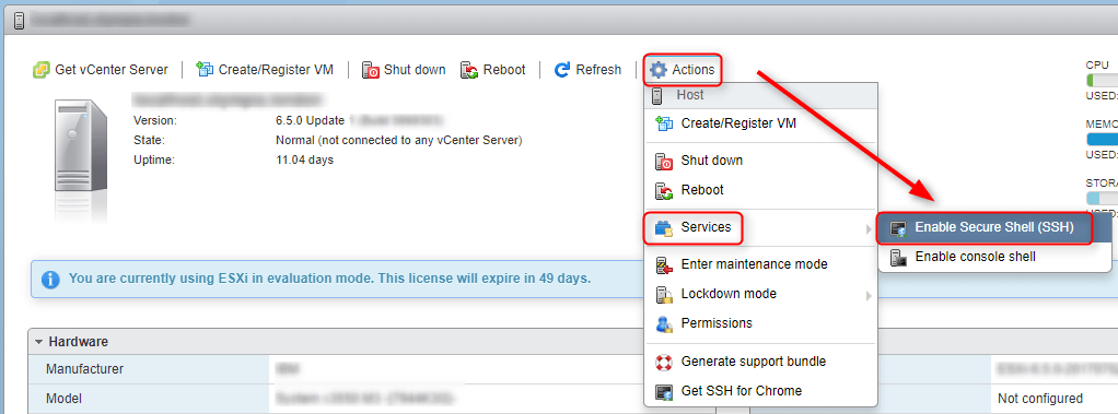How to Send Files to Your ESXi Datastore using SFTP