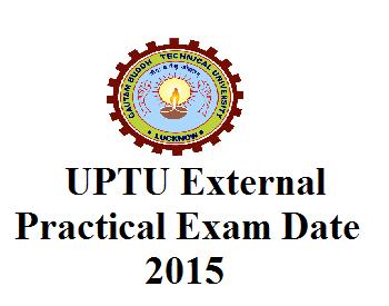 UPTU External Practical Exam 2015