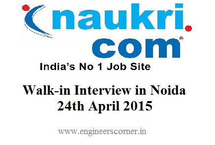 Walk-in Interview: Naukri com Hiring Freshers for Executive