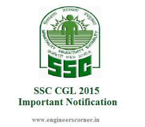 SSC CGL 2015