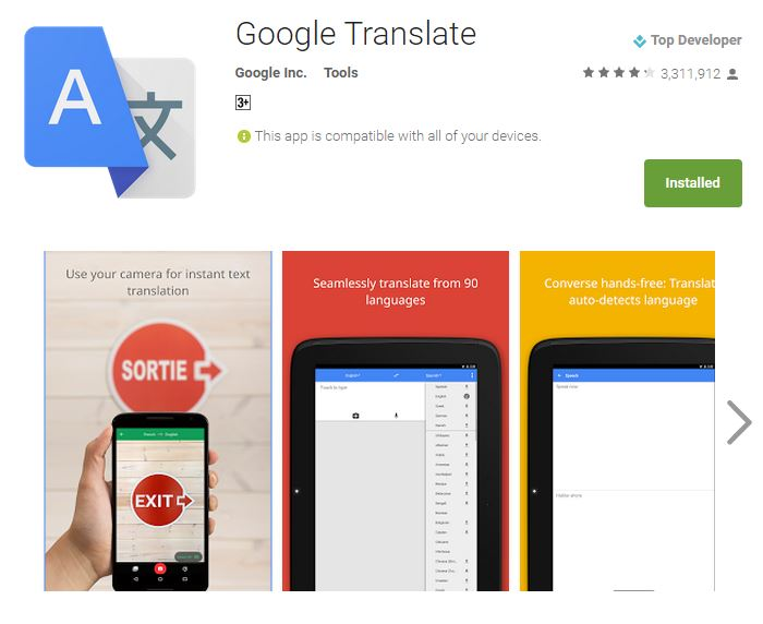 Google Translate: Instantly translate printed text in 20 new