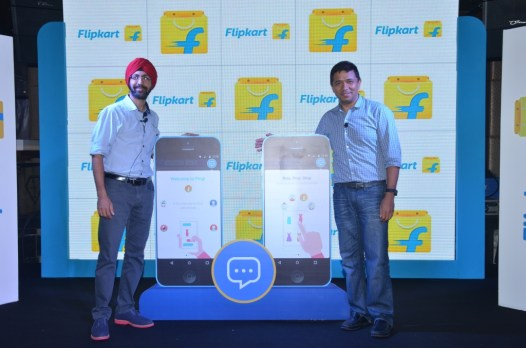 Punit Soni, Chief Product Officer and Peeyush Ranjan, CTO, Flipkart - la...