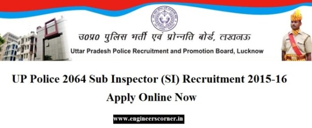 UP Police Sub Inspector recruitment job 2015-16