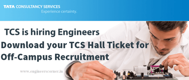 Here are the Reasons Why TCS Off-Campus Recruitment Admit Card/Hall