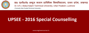 UPSEE 2016 Special Counselling