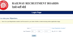 RRB NTPC Answer Key login