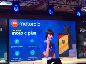 Moto C Plus Launch Event