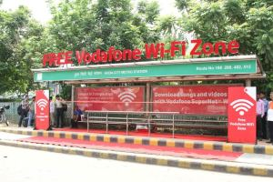 Vodafone WiFi Bus Shelter
