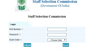 SSC CGL Tier-1 Answer Key 2017-18