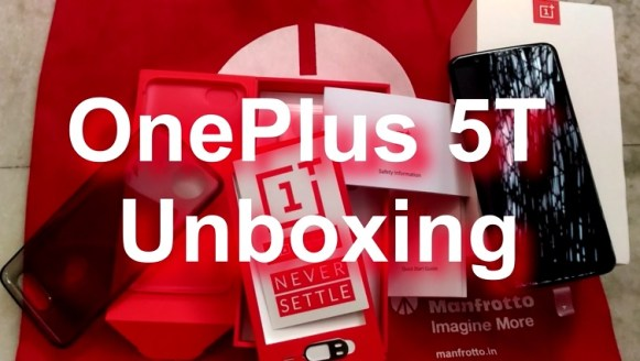 OnePlus 5T Unboxing