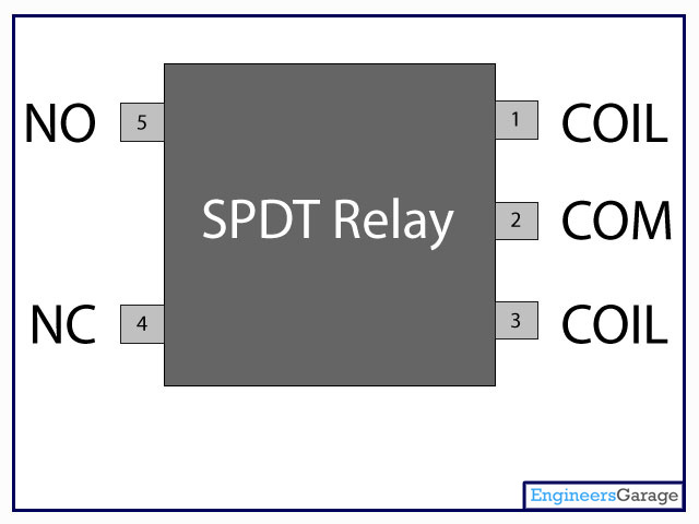 Relay Switch Pin Diagram Amp Description