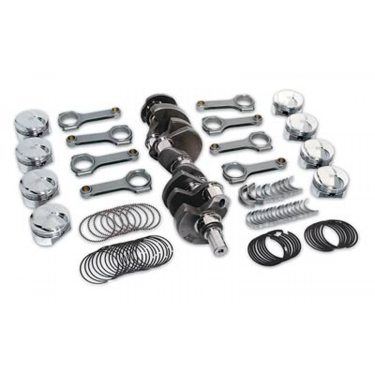 Ford 460 To 545 Scat Stroker Kit Flat Free Shipping U S