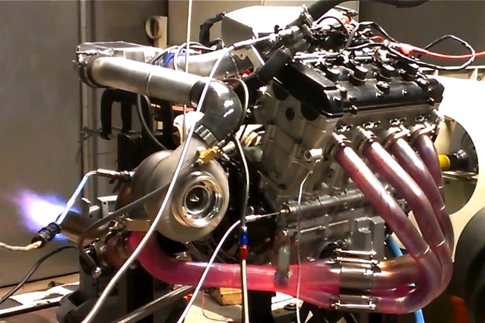 Turbocharged 13 Liter Hayabusa Seeking 350 Horsepower On