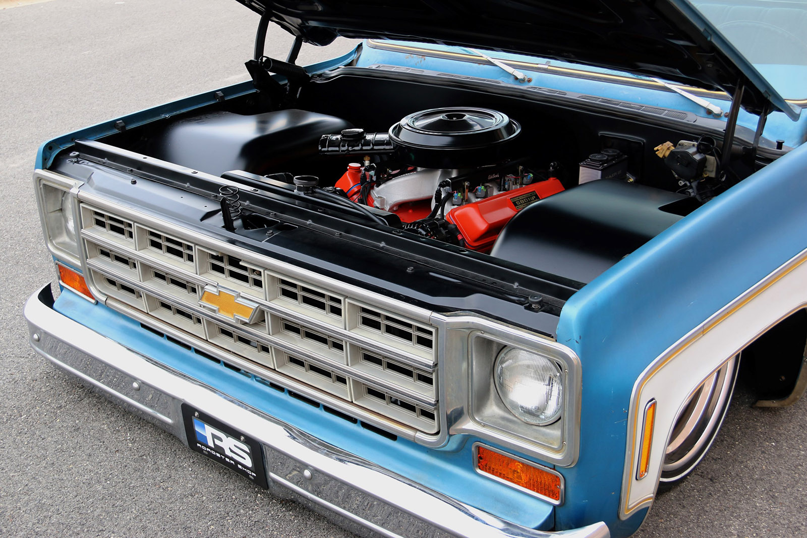 All Chevy 1976 chevy c10 : Chevy C10 with a 408 ci LSx - engineswapdepot.com