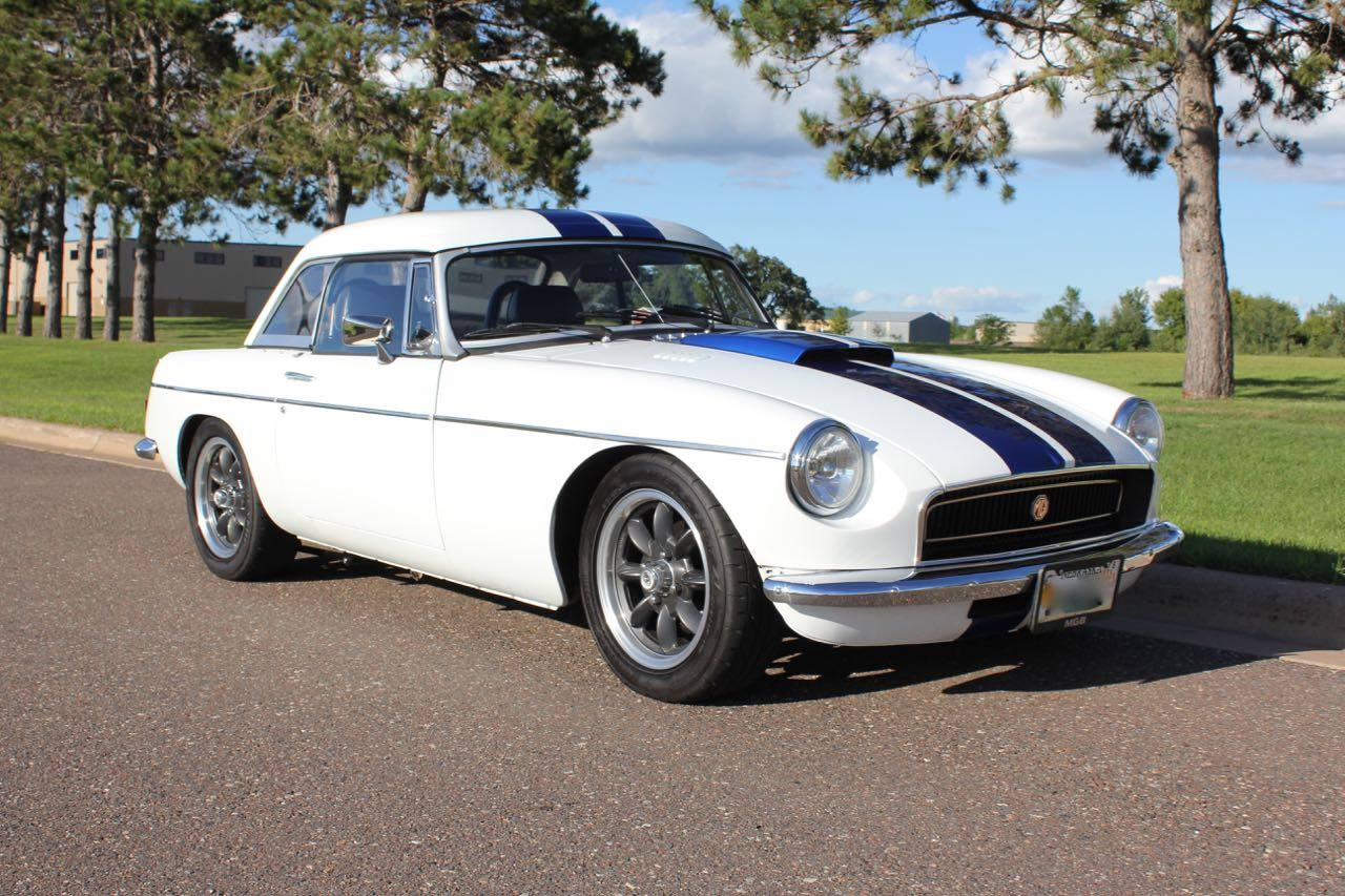mgb with a camaro 3 4 l v6 engine swap depot rh engineswapdepot com MGB Engine Compartment Advance Auto Wire MGB
