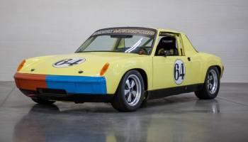 Porsche Race Car With A L Flat Six Engine Swap Depot